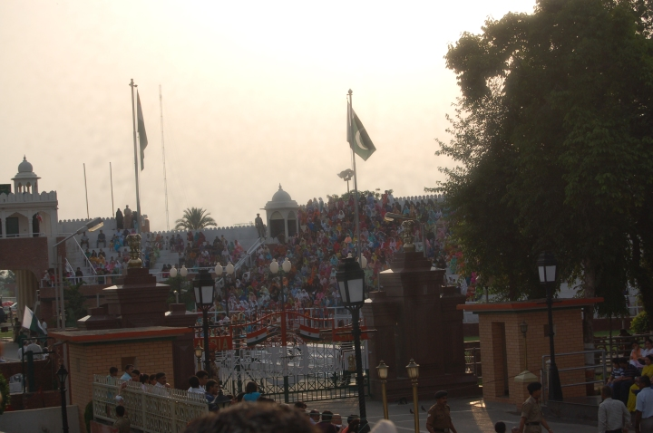 The colours of India:Wagah