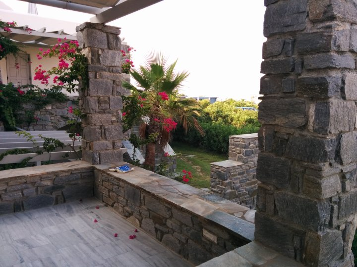 Reading Nook, Poseidon of Paros Hotel